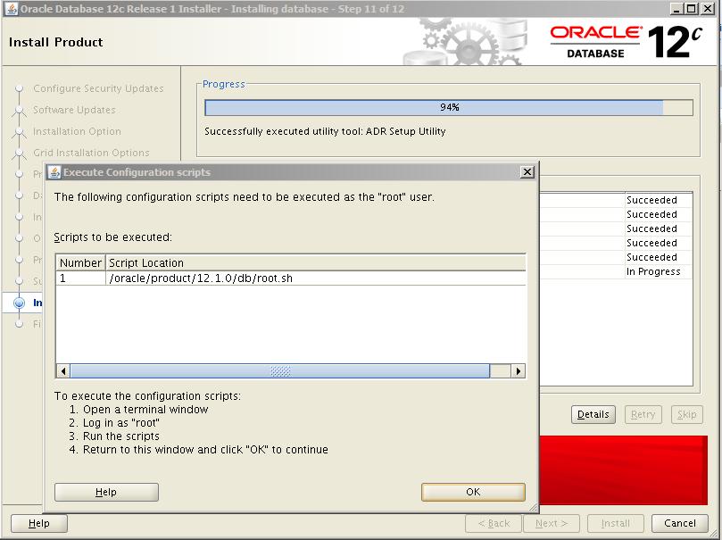 Oracle 12c Kurulum 13