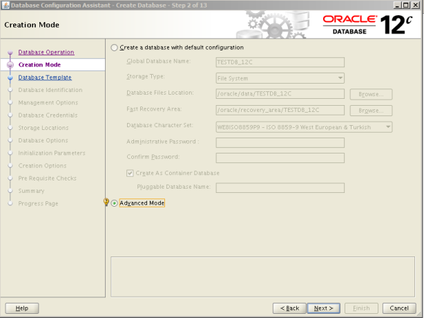 Oracle 12c Kurulum 17