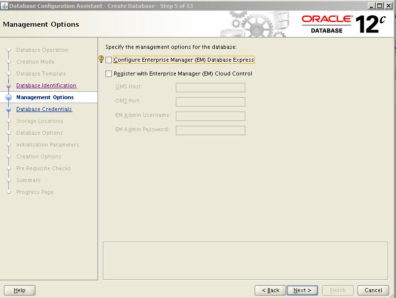 Oracle 12c Kurulum 20