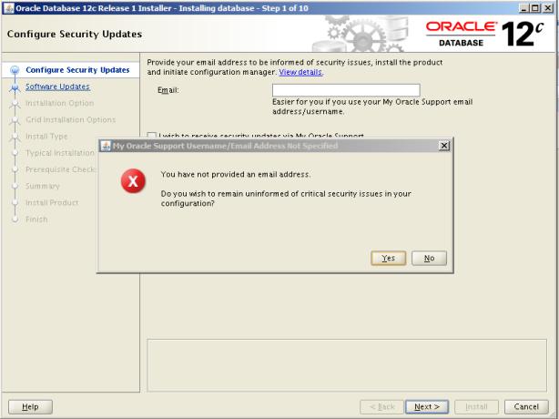 Oracle 12c Kurulum 3
