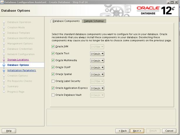 Oracle 12c Kurulum 31