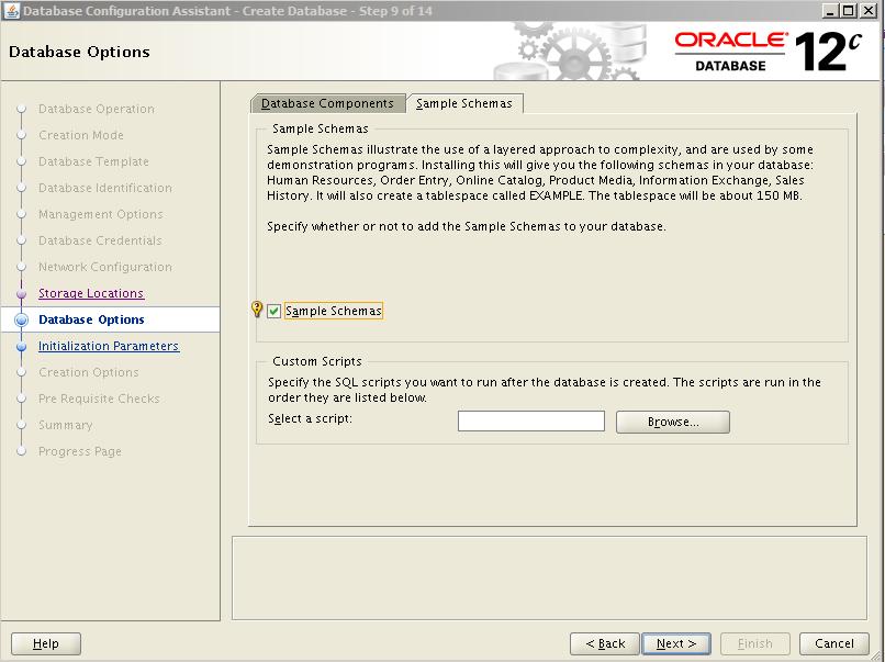 Oracle 12c Kurulum 32