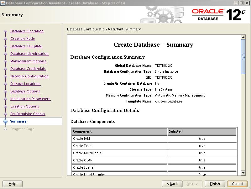 Oracle 12c Kurulum 38