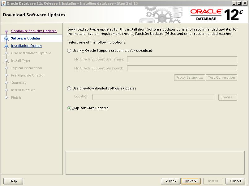 Oracle 12c Kurulum 4