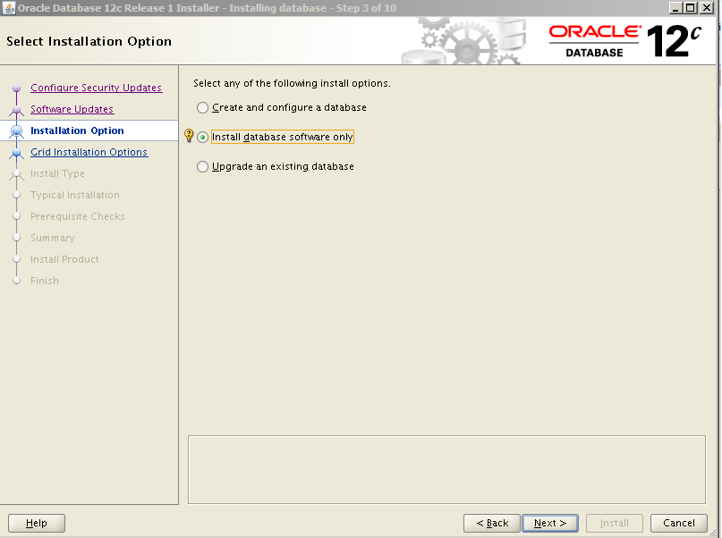 Oracle 12c Kurulum 5