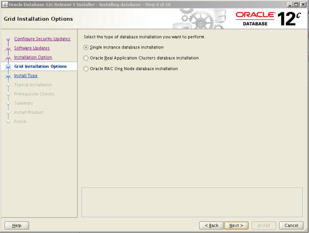 Oracle 12c Kurulum 6