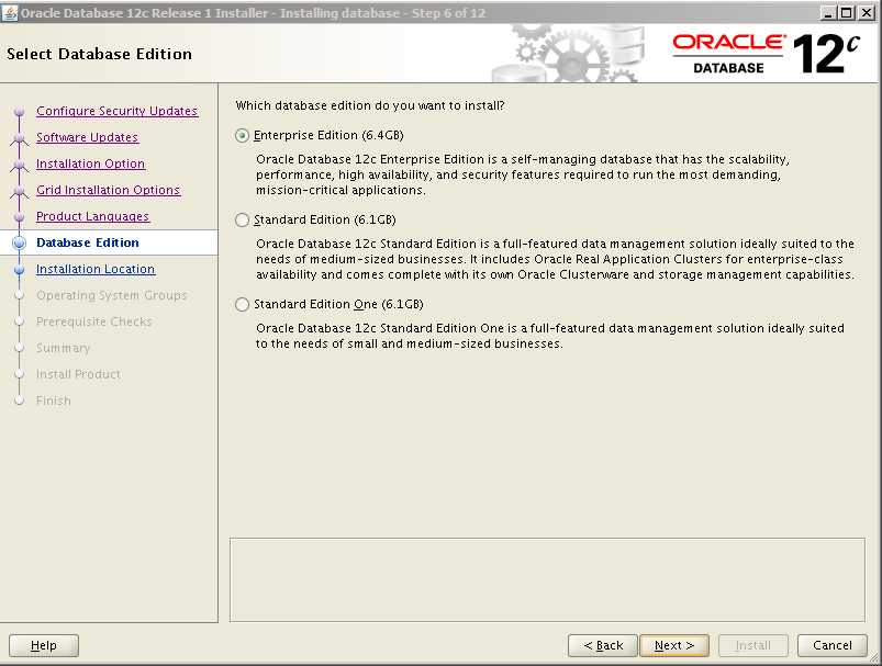 Oracle 12c Kurulum 8