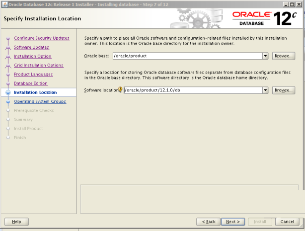 Oracle 12c Kurulum 9