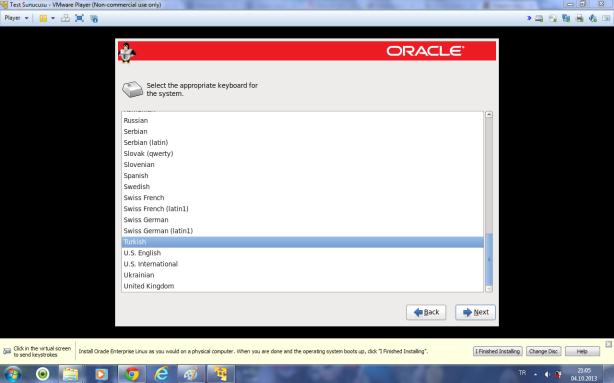 Oracle Linux 6.4 kurulumu 12