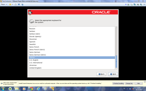 Oracle Linux 6.4 kurulumu 12