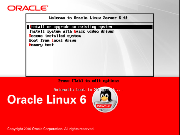 Oracle Linux 6.4 kurulumu 7