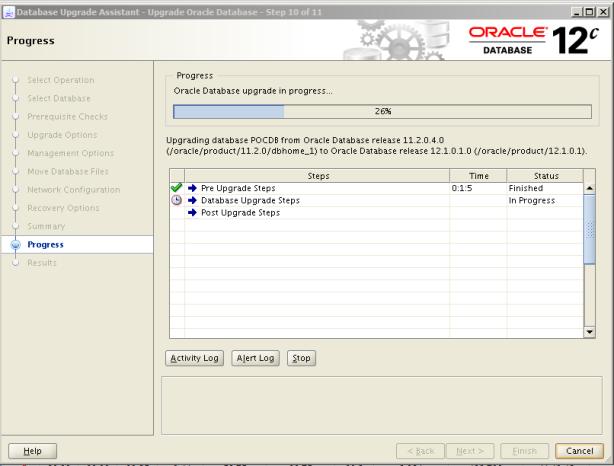 Oracle 12c Upgrade 11