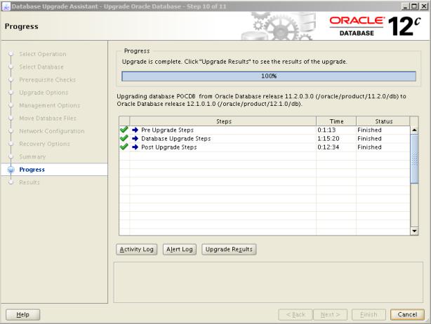 Oracle 12c Upgrade 12