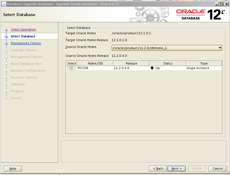 Oracle 12c Upgrade 2
