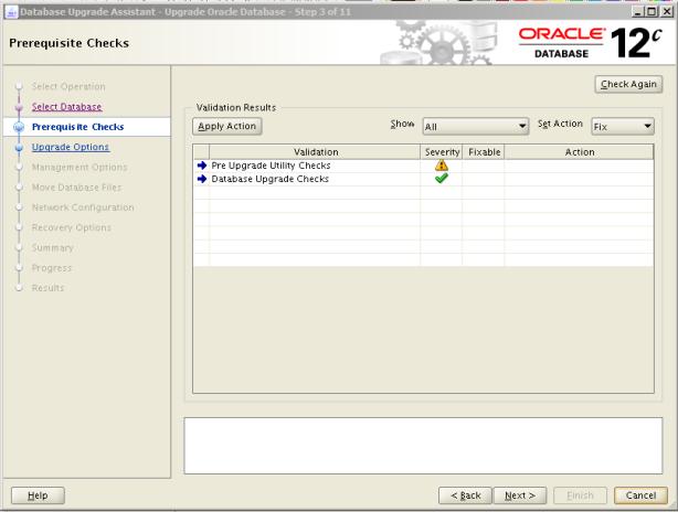 Oracle 12c Upgrade 3