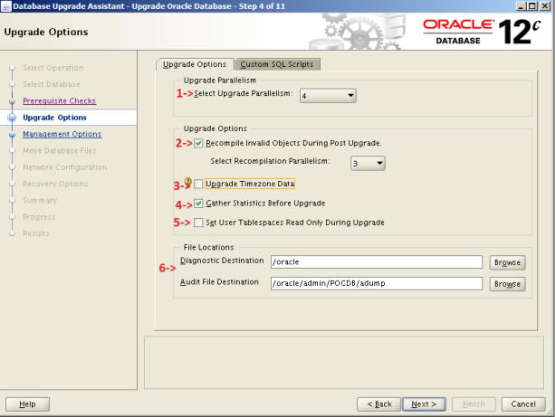 Oracle 12c Upgrade 4