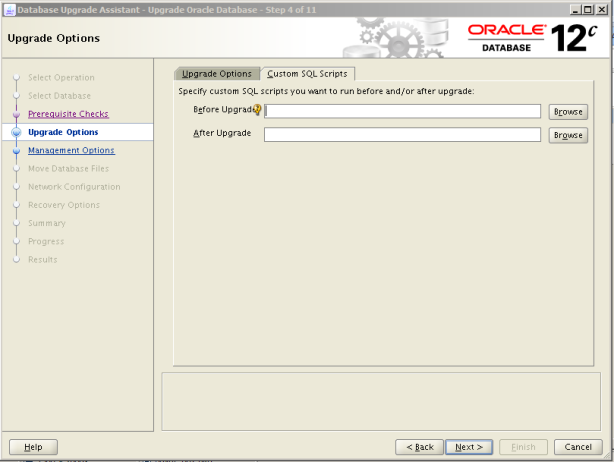 Oracle 12c Upgrade 5