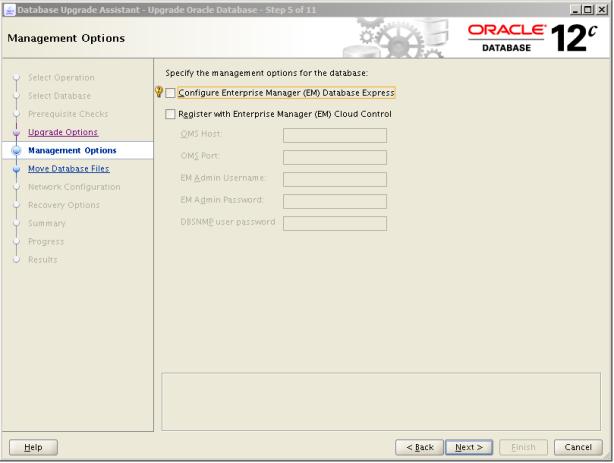 Oracle 12c Upgrade 6
