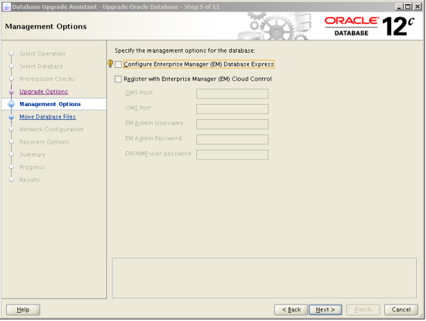 Oracle 12c Upgrade 6