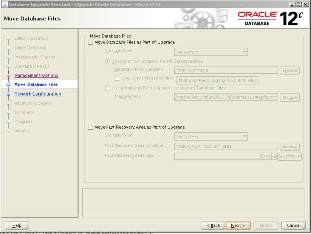 Oracle 12c Upgrade 7