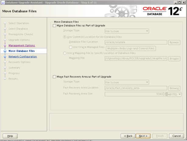 Oracle 12c Upgrade 7