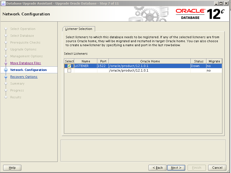 Oracle 12c Upgrade 8