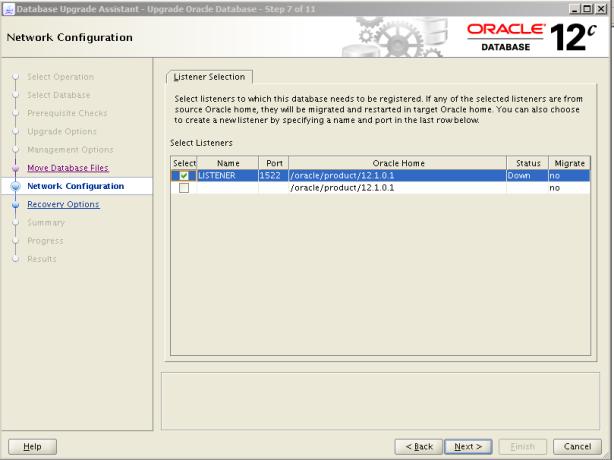 Oracle 12c Upgrade 8