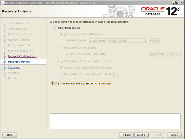 Oracle 12c Upgrade 9