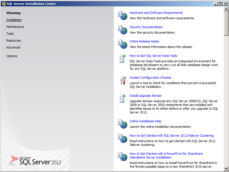 SQL Server 2012 -1
