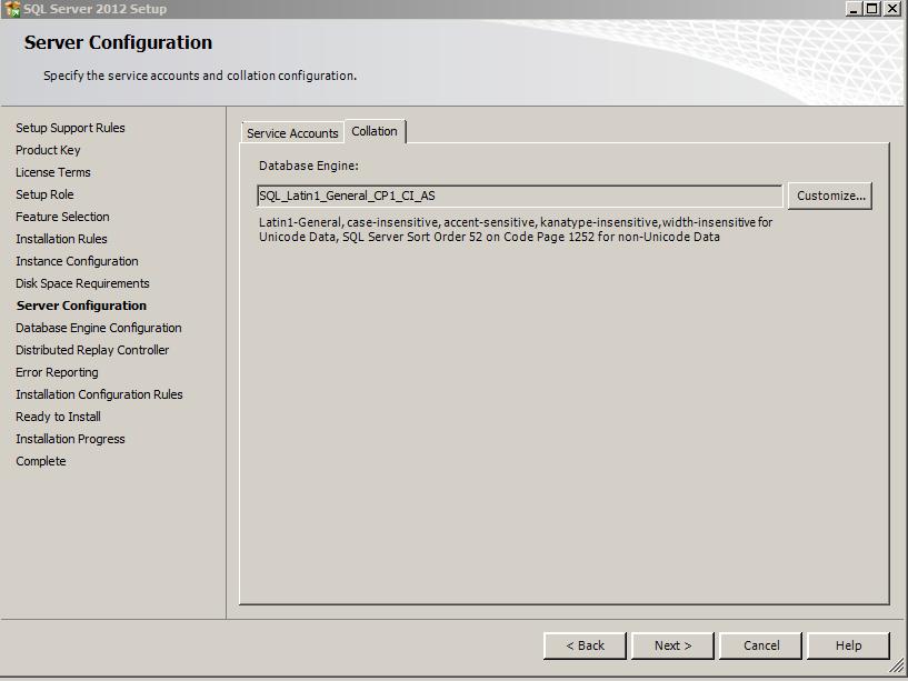 SQL Server 2012 -12