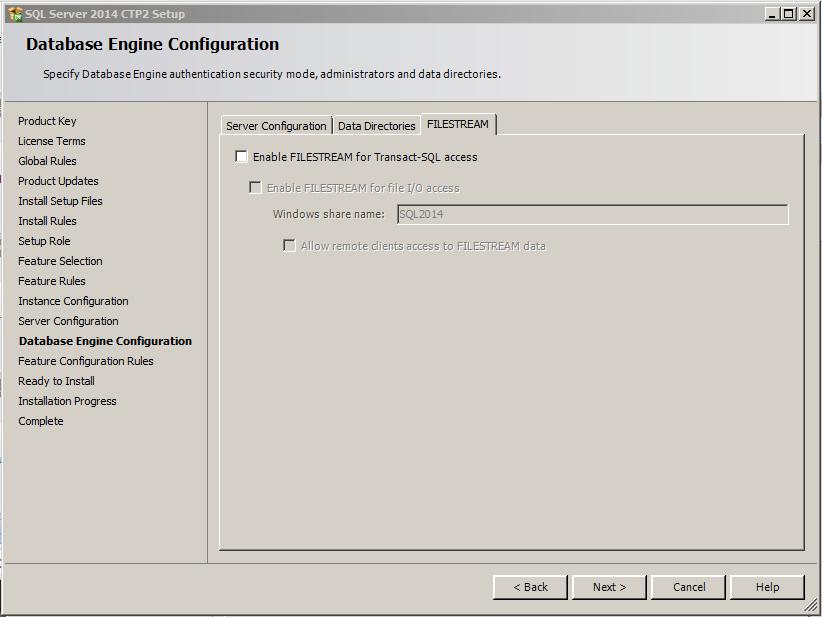 SQL Server 2014 -13