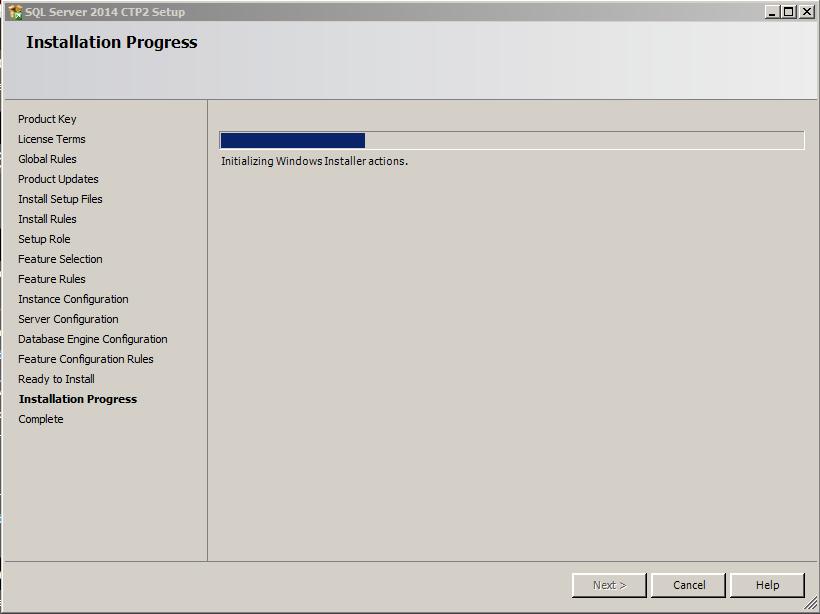SQL Server 2014 -15