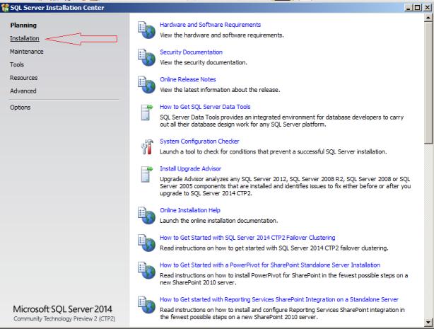 SQL Server 2014 -2