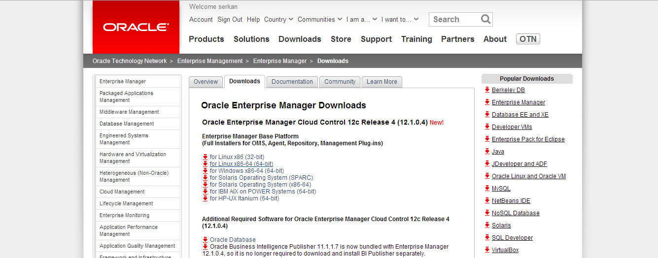 Oracle Enterprise Manager Cloud Control Architecture and Step by